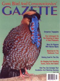 Game Bird and Conservationists' Gazette  (15884 bytes)
